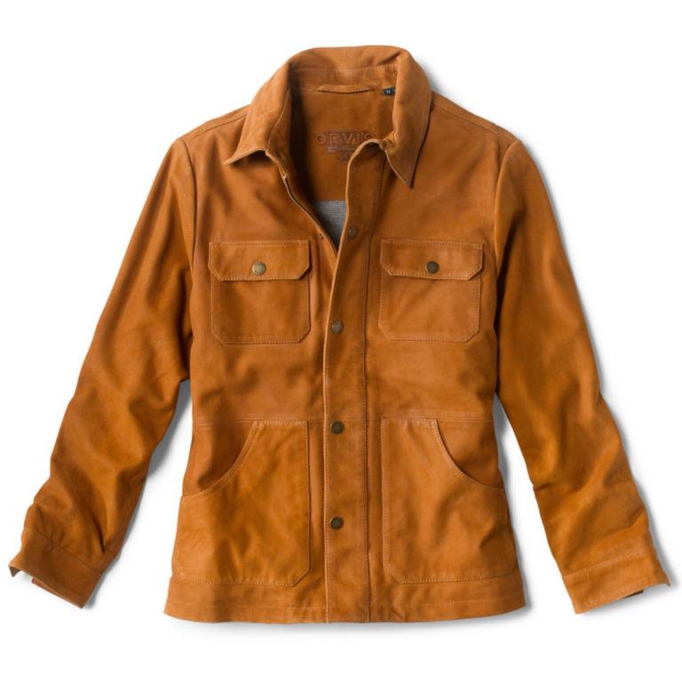 Fowler Leather Jacket - HONEY image number 0