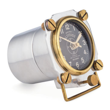 Aluminum Altimeter Clock -