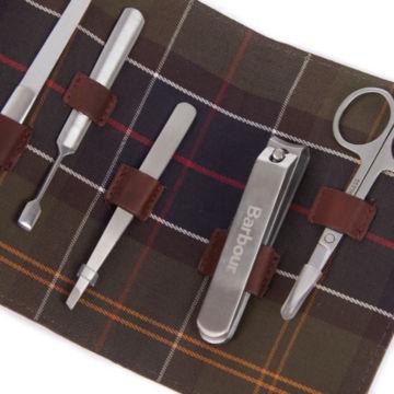 Barbour® Aydon Manicure Kit - OLIVE image number 3