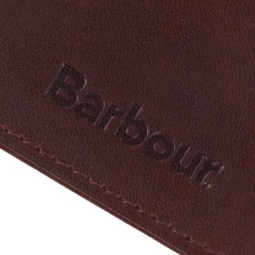 Barbour® Wax/Leather Cardholder - OLIVE image number 2