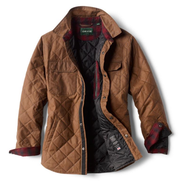 Bethel Waxed Cotton Shirt Jacket -  image number 1