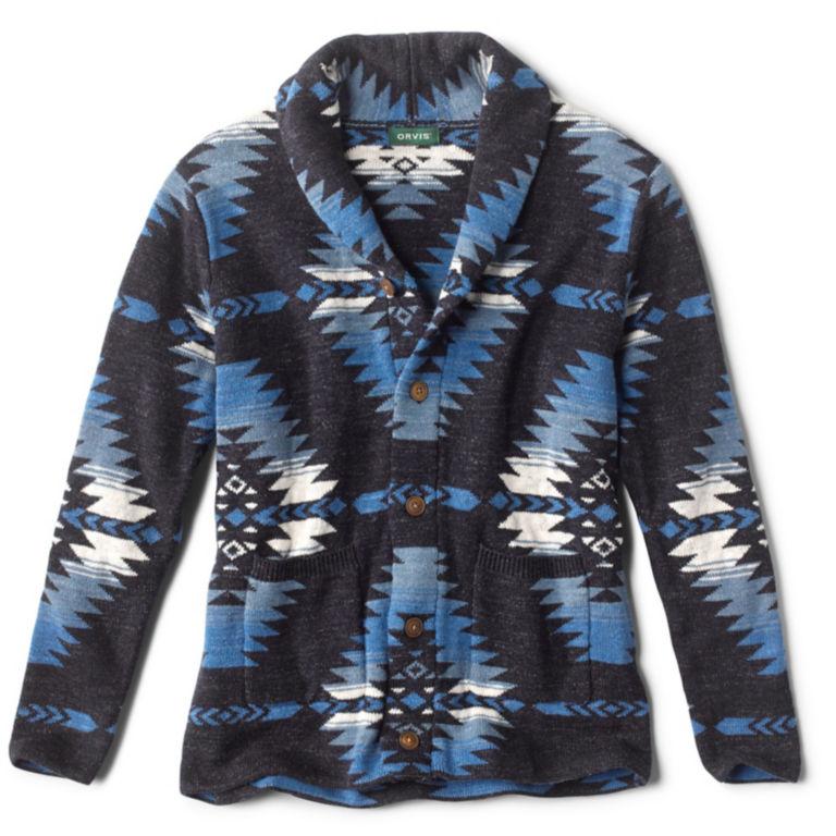 Shawl Cardigan Beacon Sweater - BLUE MOON image number 0