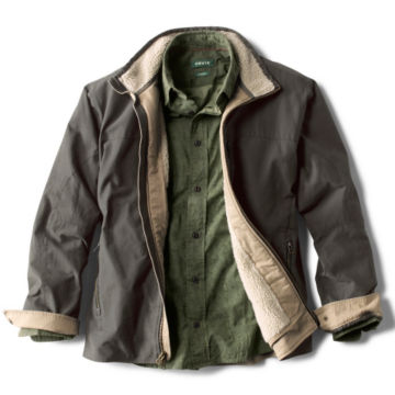 Sherpa-Lined Briar Jacket - CHARCOAL image number 2