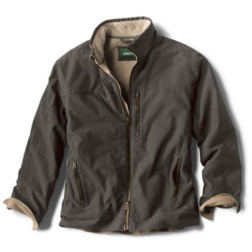 Sherpa-Lined Briar Jacket - CHARCOAL image number 0