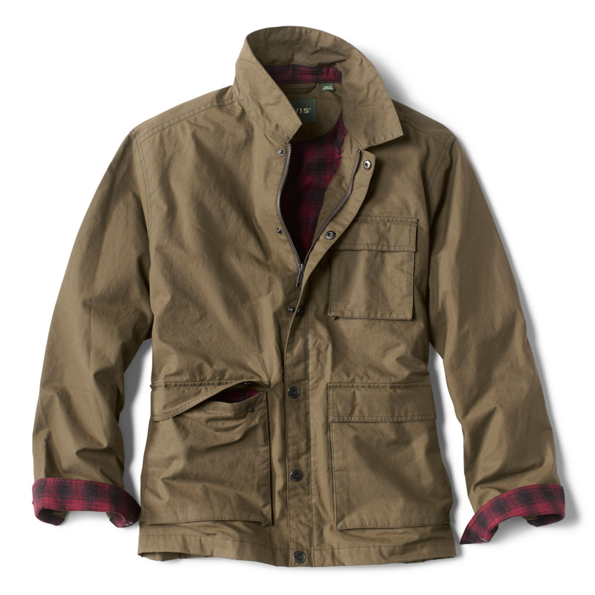 Taconic Waxed Jacket - DARK PINEimage number 0