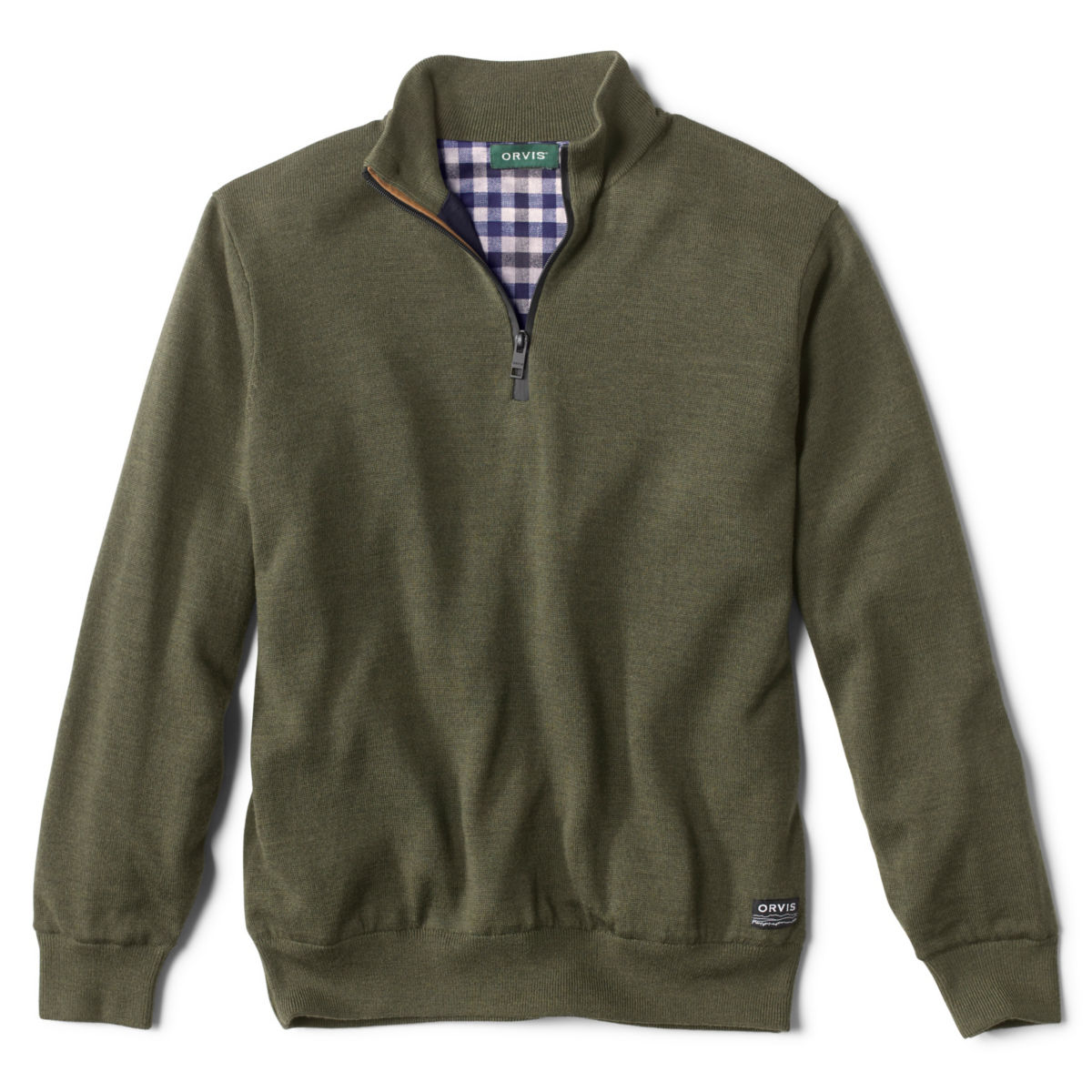 Lightweight Foul Weather Sweater - GREENimage number 0