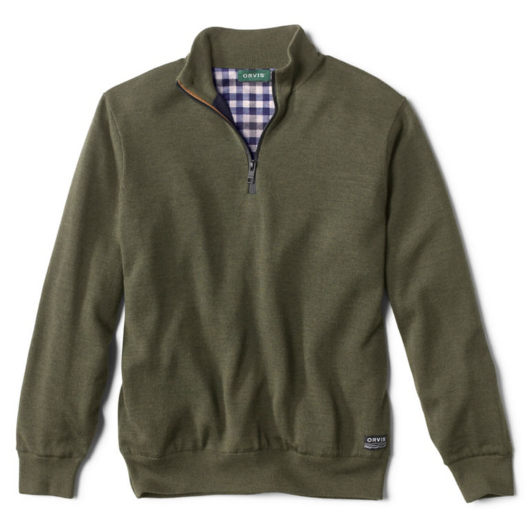 Lightweight Foul Weather Sweater - GREEN image number 0