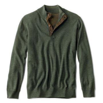 Merino Button Mockneck Sweater -  image number 0