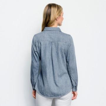 Multi Embroidered Denim Shirt -  image number 2