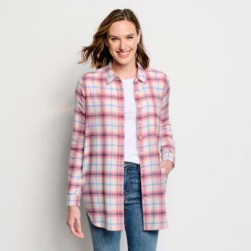 Soft Flannel Big Shirt -
