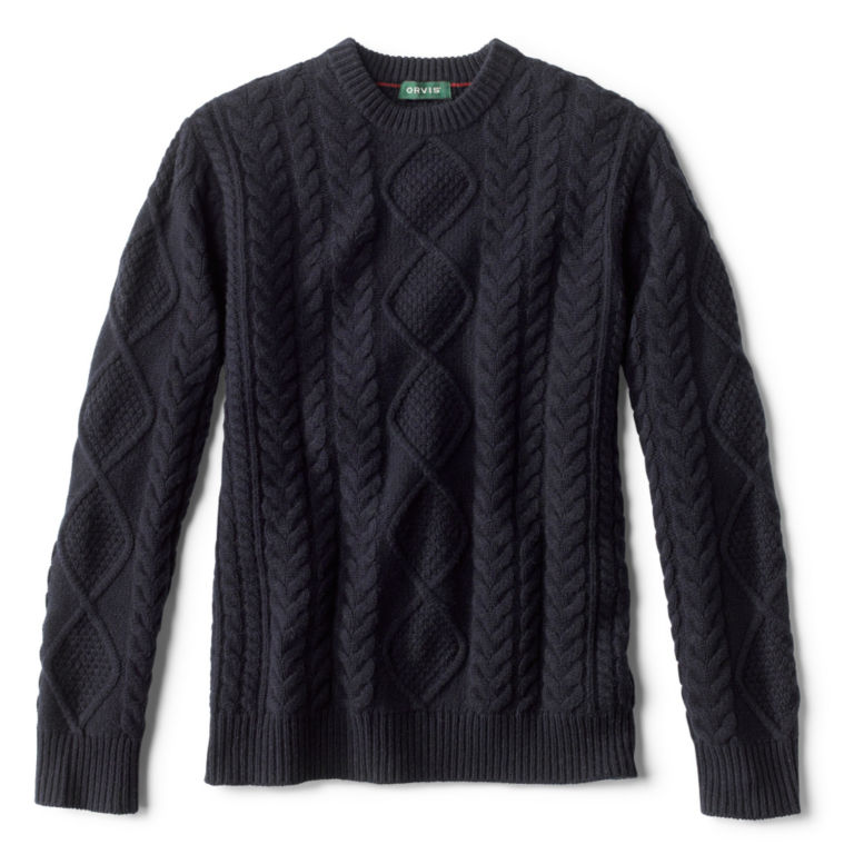 Cable Crewneck Sweater -  image number 0