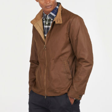 Barbour® Brobel Waxed Jacket - BROWN image number 1