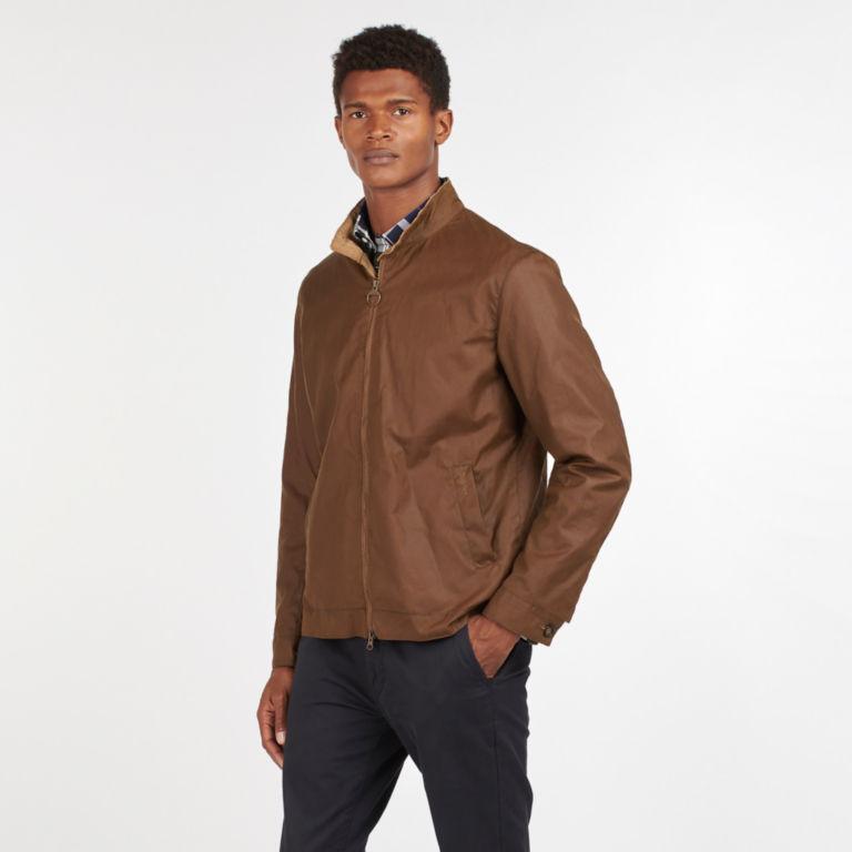 Barbour® Brobel Waxed Jacket - BROWN image number 5