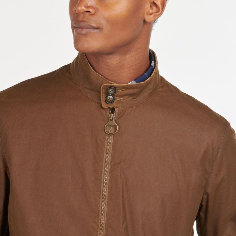 Barbour® Brobel Waxed Jacket - BROWN image number 3