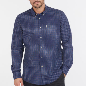 Barbour® Batley Performance Shirt - NAVYimage number 1