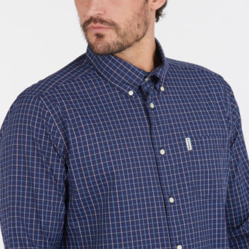 Barbour® Batley Performance Shirt - NAVYimage number 3