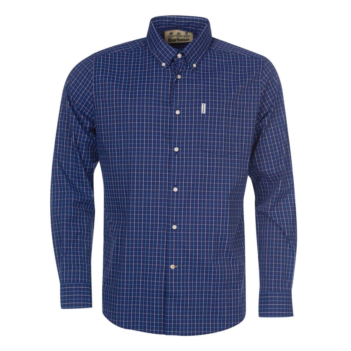 Barbour® Batley Performance Shirt - NAVYimage number 0