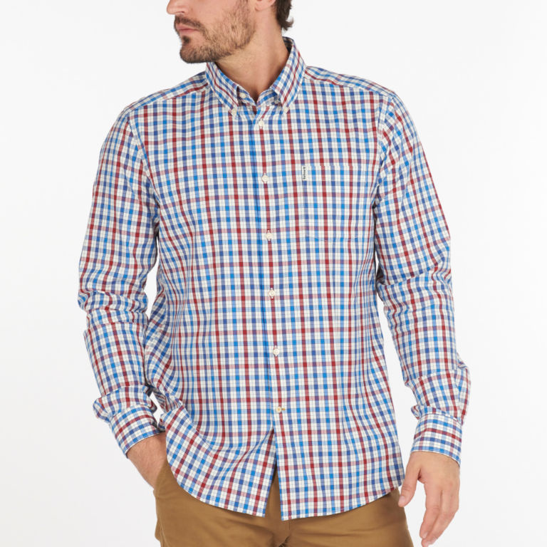 Barbour® Hallhill Performance Shirt - RED image number 1