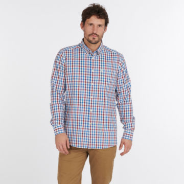 Barbour® Hallhill Performance Shirt - RED image number 4
