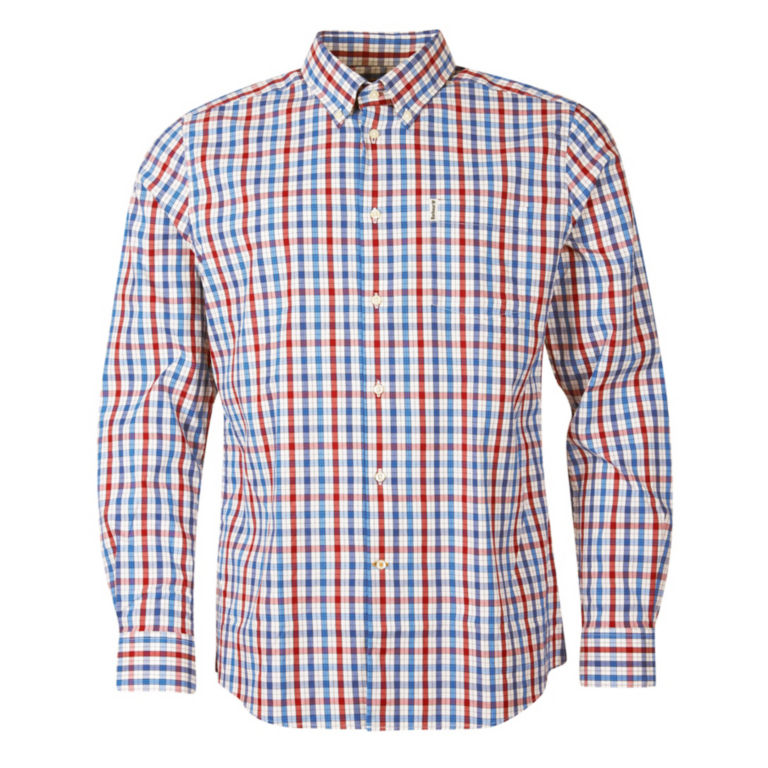 Barbour® Hallhill Performance Shirt - RED image number 0