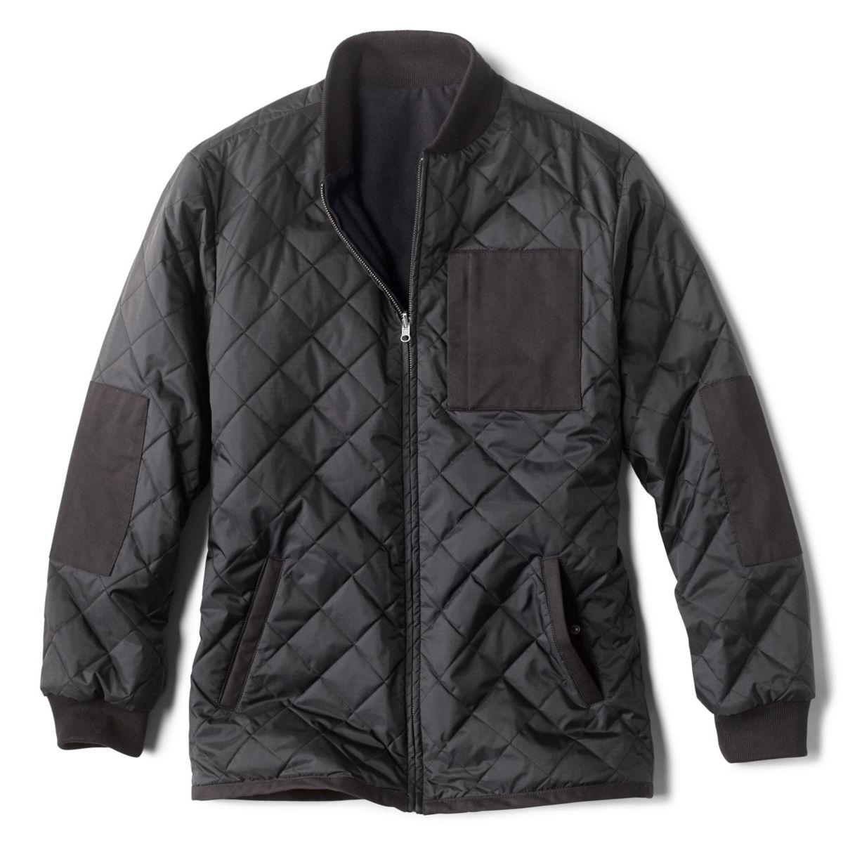 Reversible Fill Jacket - BLACKimage number 0