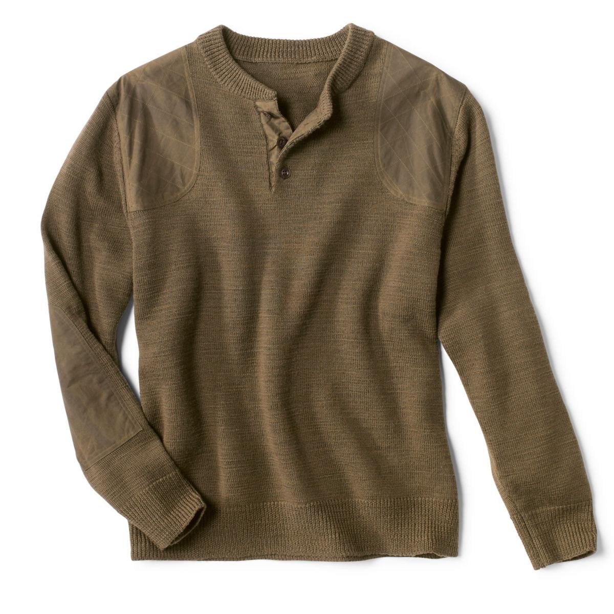 Stevensons Sweater - DARK OLIVEimage number 0