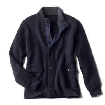 Hale Mountain Trappers' Sweater - NAVY image number 0