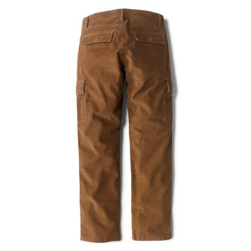 Stretch Corduroy Cargo Pants - TOBACCO image number 1