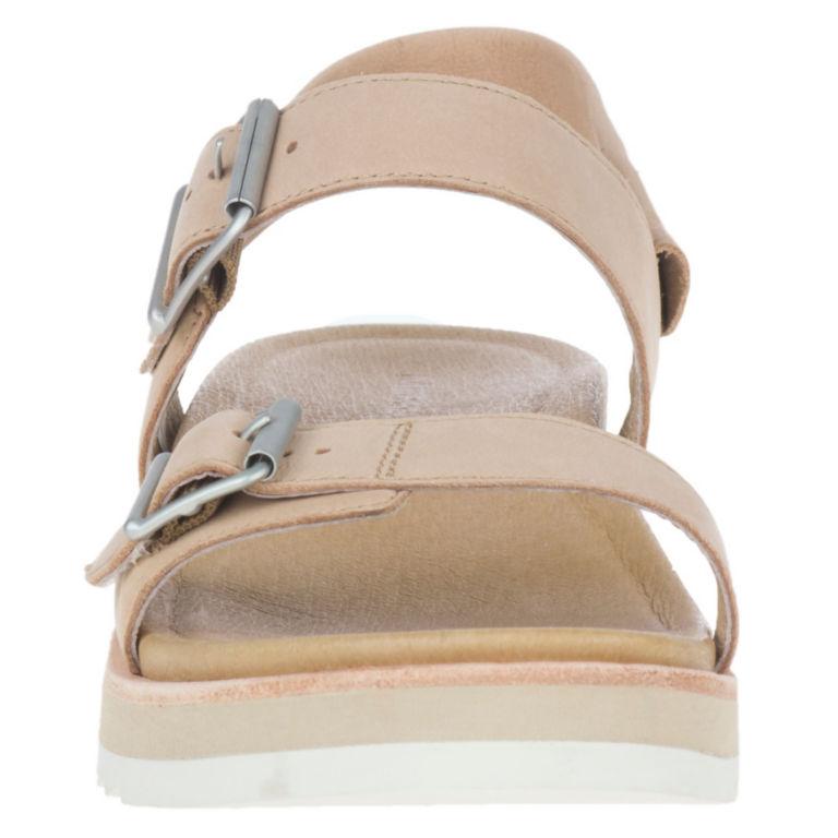 Merrell® Juno Buckle Back-Strap Sandals - CAMEL image number 1