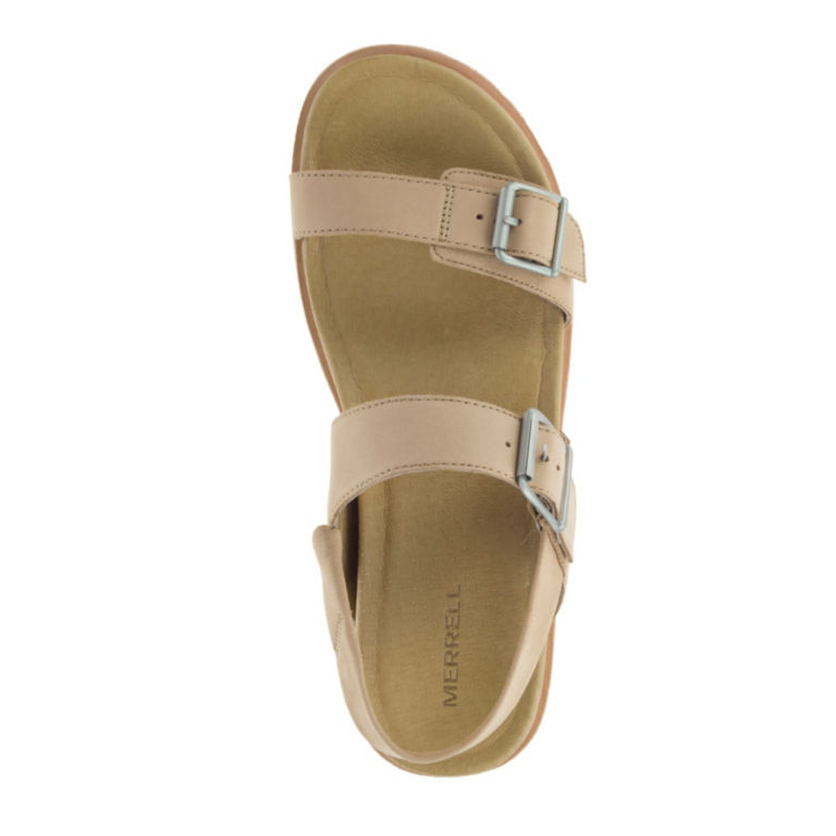 Merrell® Juno Buckle Back-Strap Sandals - CAMEL image number 3