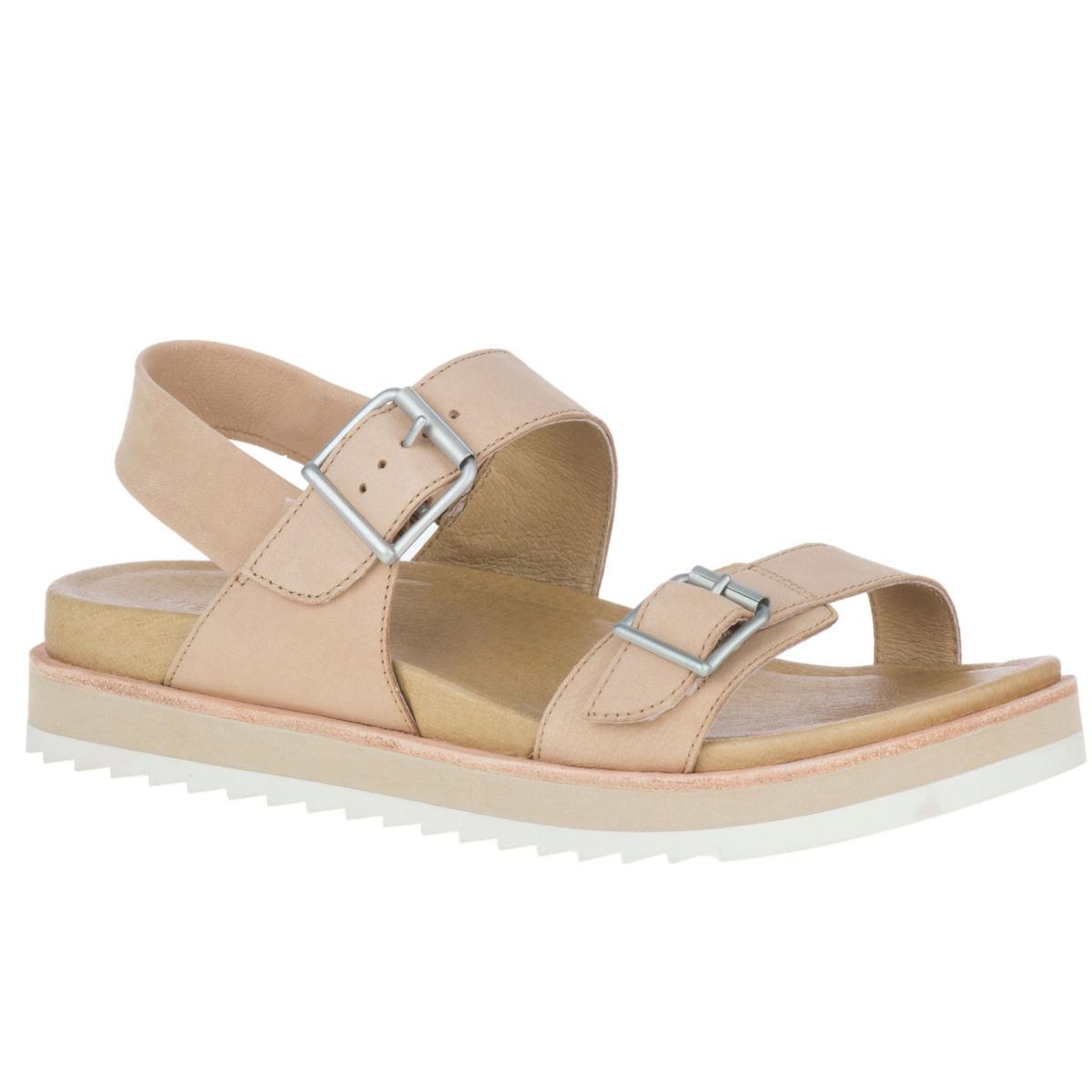Merrell® Juno Buckle Back-Strap Sandals - CAMELimage number 0