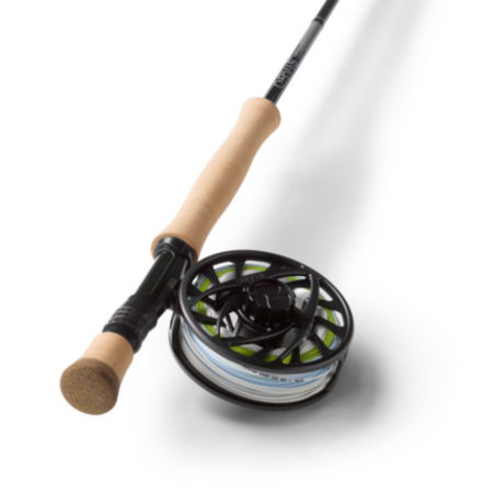 A fishing rod and reel