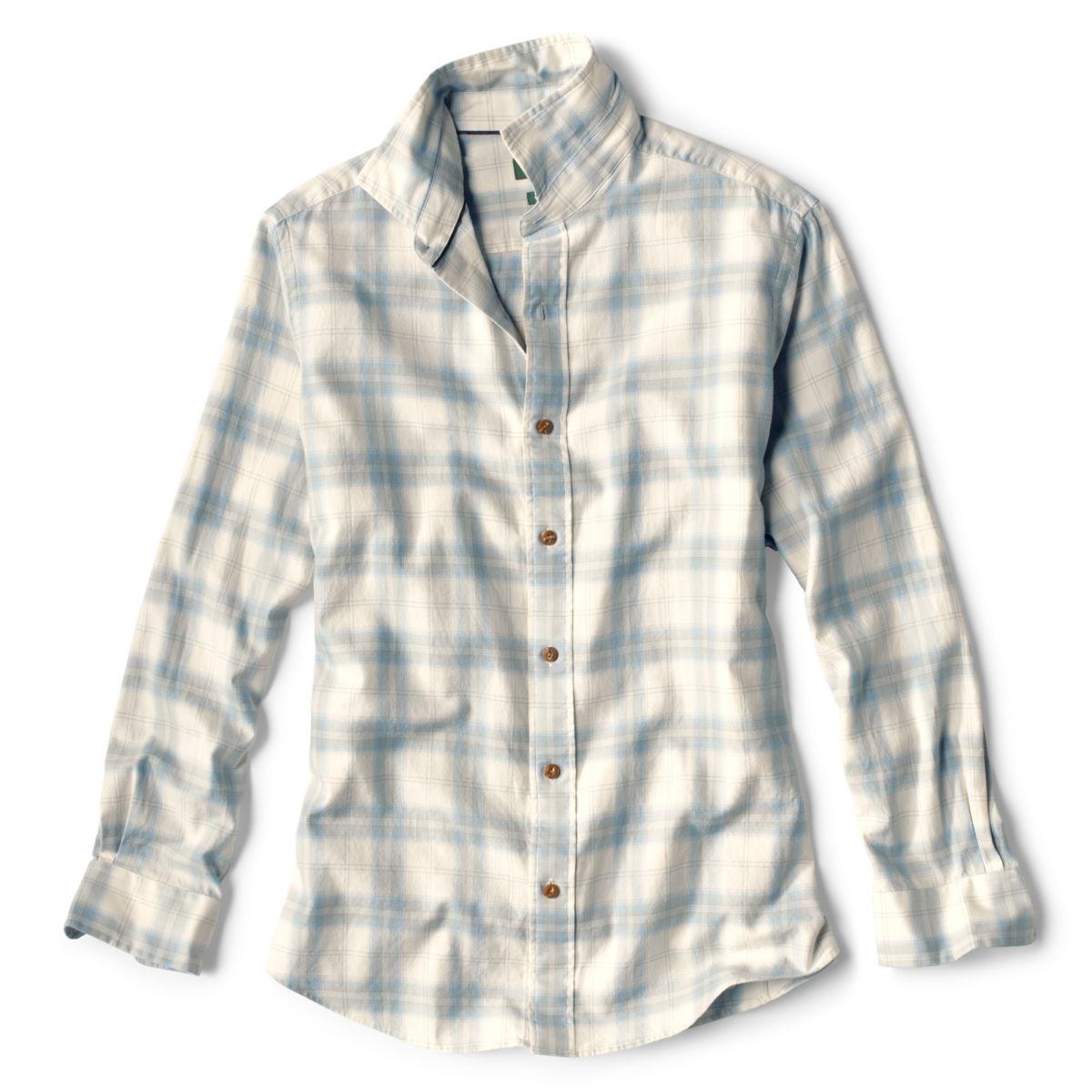 Lightweight Gabardine Long-Sleeved Shirt - image number 0
