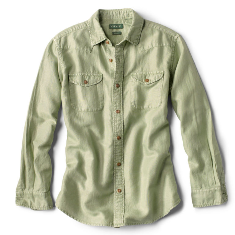 Western Two-Ply Long-Sleeved Shirt -  image number 0