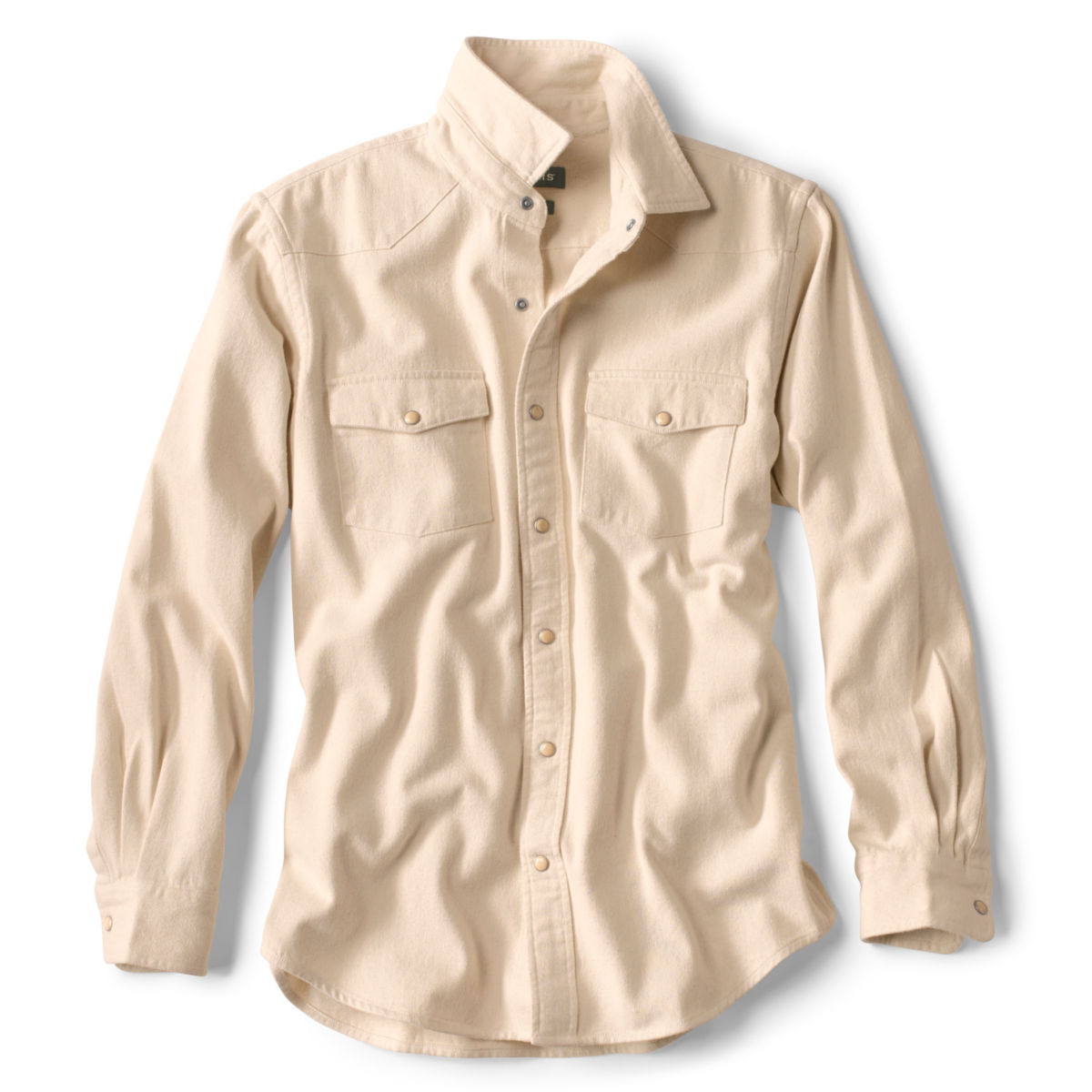 Natural Denim Long-Sleeved Shirt - NATURALimage number 0