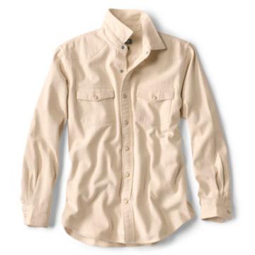 Natural Denim Long-Sleeved Shirt - NATURAL image number 0