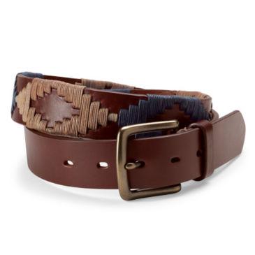 Latigo Leather Waxed Cord Belt -