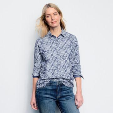 Printed Chambray Shirt -  image number 4