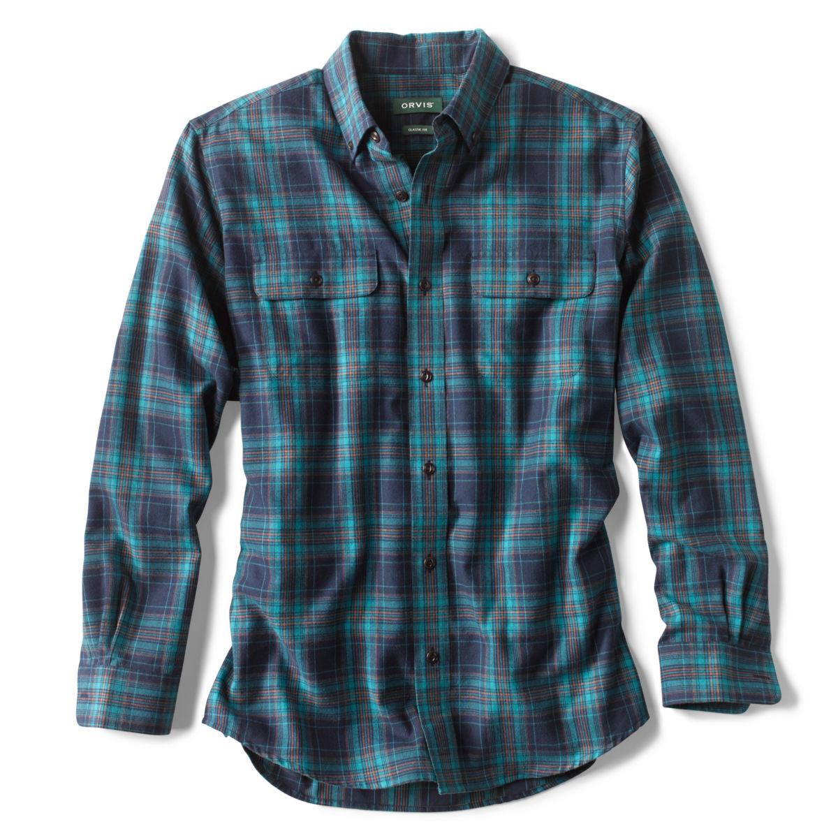 Cotton/Wool Long-Sleeved Performance Shirt - image number 0