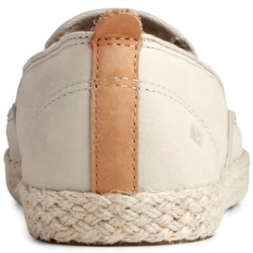 Sperry® Twin-Gore Leather/Jute Slip-Ons -  image number 2