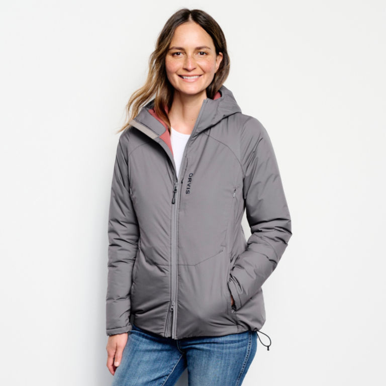Women's PRO HD Insulated Hoodie - IRONGATE image number 1