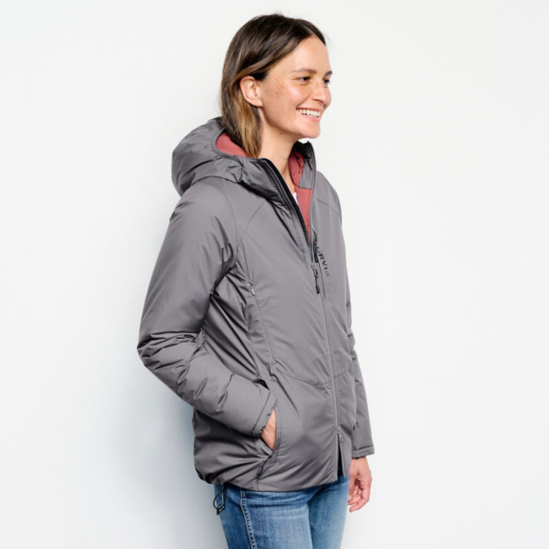 Women's PRO HD Insulated Hoodie - IRONGATE image number 2