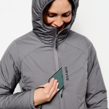 Women's PRO HD Insulated Hoodie - IRONGATE image number 4