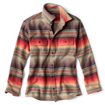 Desert Sunset Stripe Long-Sleeved Shirt - SUNSET image number 0