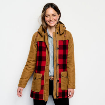 Orvis Field Fresh Jacket - RED BUFFALO CHECK image number 1