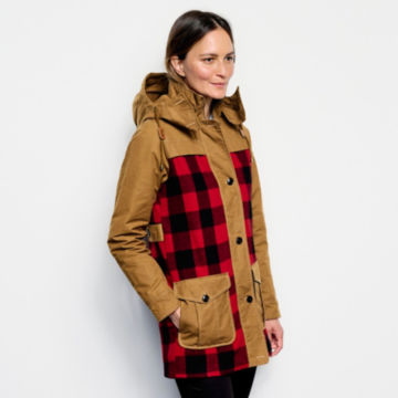 Orvis Field Fresh Jacket - RED BUFFALO CHECK image number 2
