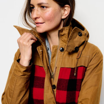 Orvis Field Fresh Jacket - RED BUFFALO CHECK image number 4