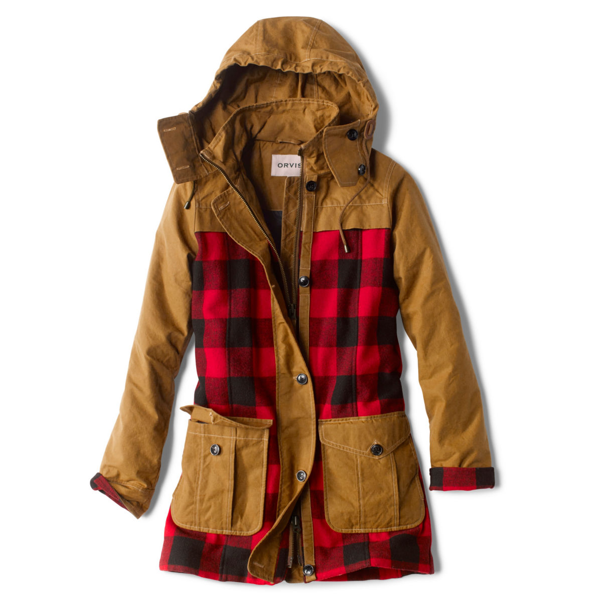 Orvis Field Fresh Jacket - RED BUFFALO CHECKimage number 0
