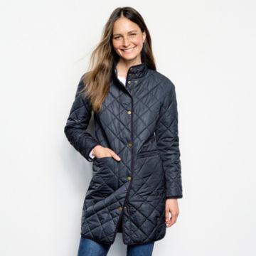 Battenkill® Reversible Blanket Coat - CARBON image number 1