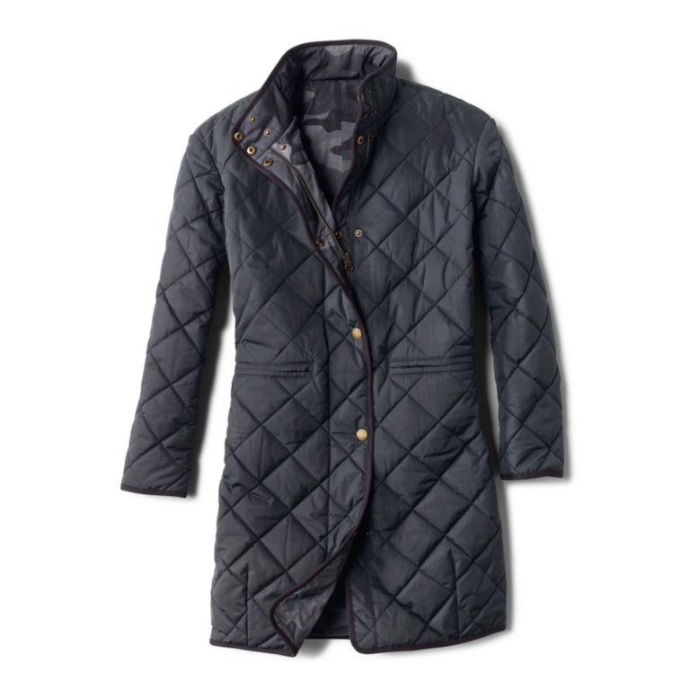 Battenkill® Reversible Blanket Coat - CARBON image number 0